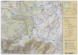 mapa biciklizam Vlasic